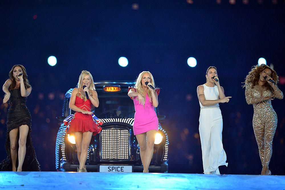 Spice Girls Reunion Tour England United States