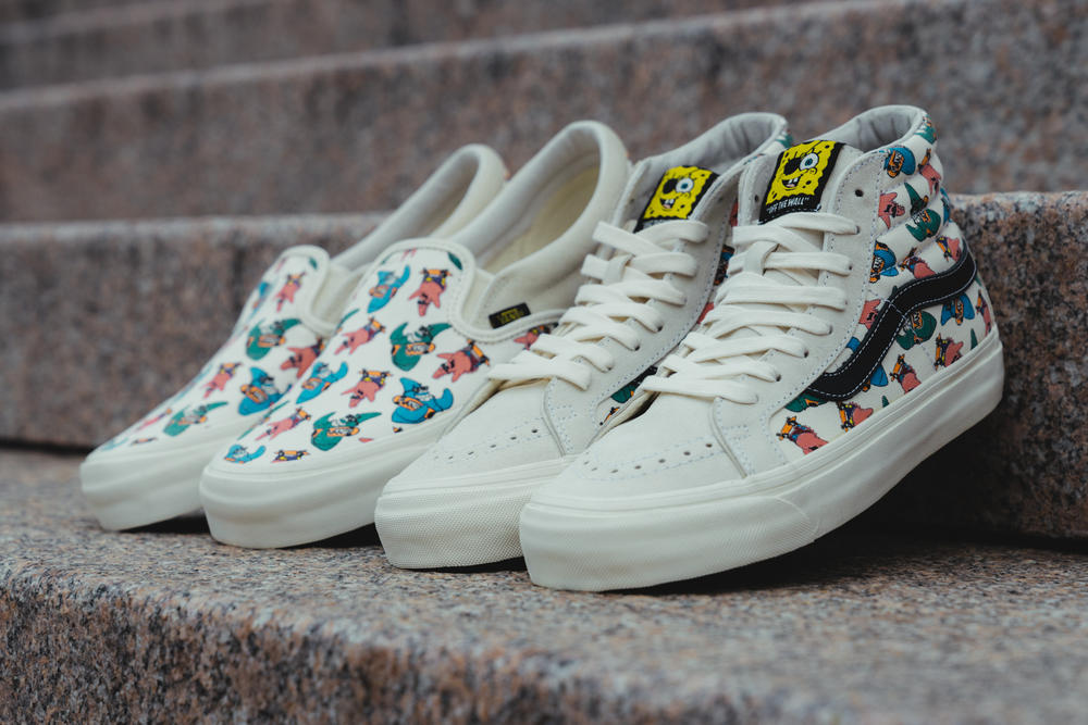 f808f5bf7fed2f A Closer Look at the SpongeBob Squarepants x Vans Collection
