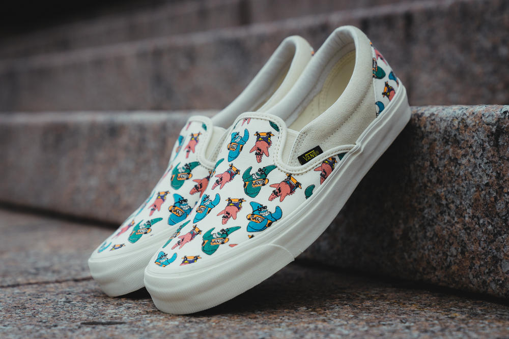 9488057c380a Vans Spongebob Squarepants Collection Sneakers Slip-On Sk8-Hi Authentic  Nickelodeon Collaboration