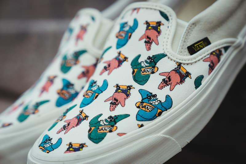 Vans Spongebob Squarepants Collection Sneakers Slip-On Sk8-Hi Authentic Nickelodeon Collaboration
