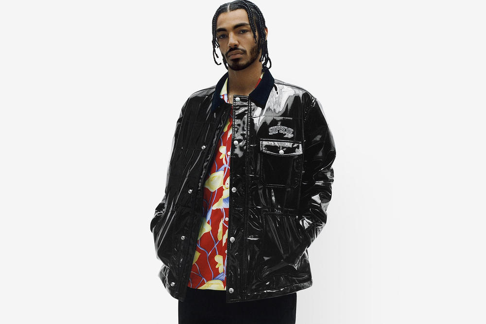 Supreme Spring/Summer 2018 Collection Lookbook Vinyl Jacket