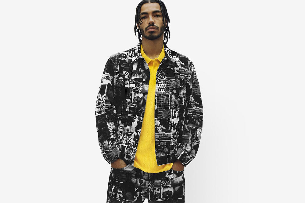 Supreme Spring/Summer 2018 Collection Lookbook Jacket White Black