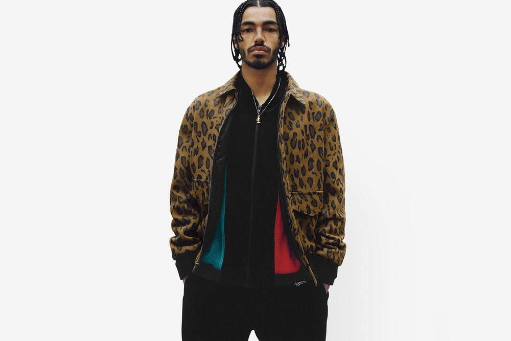 Supreme Spring/Summer 2018 Collection Lookbook Jacket Leopard