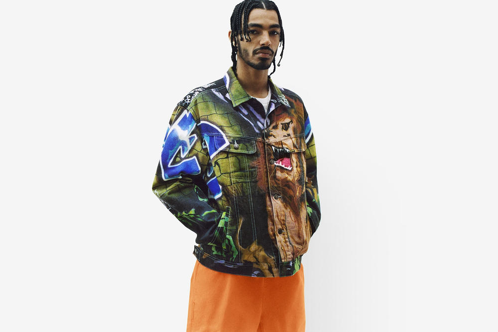 Supreme Spring/Summer 2018 Collection Lookbook Jacket Brown Green