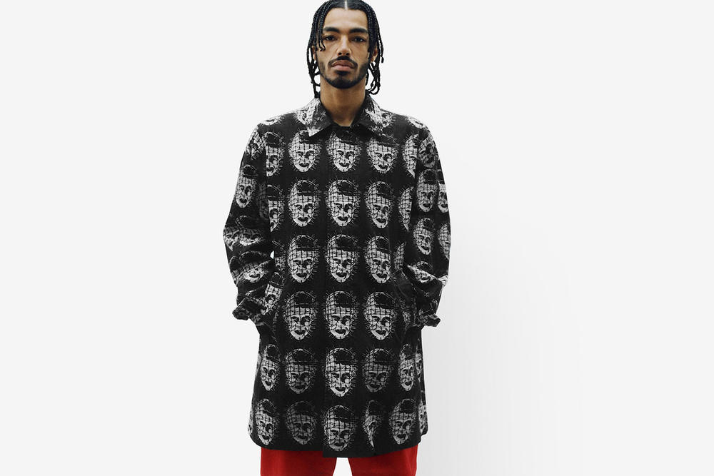 Supreme Spring/Summer 2018 Collection Lookbook Graphic Jacket Black White