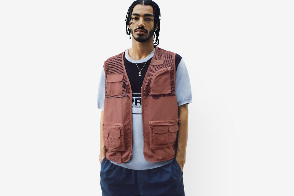 Supreme Spring/Summer 2018 Collection Lookbook Vest Red