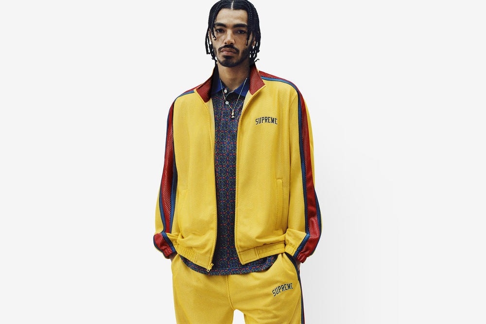 Supreme Spring/Summer 2018 Collection Lookbook Jacket Yellow