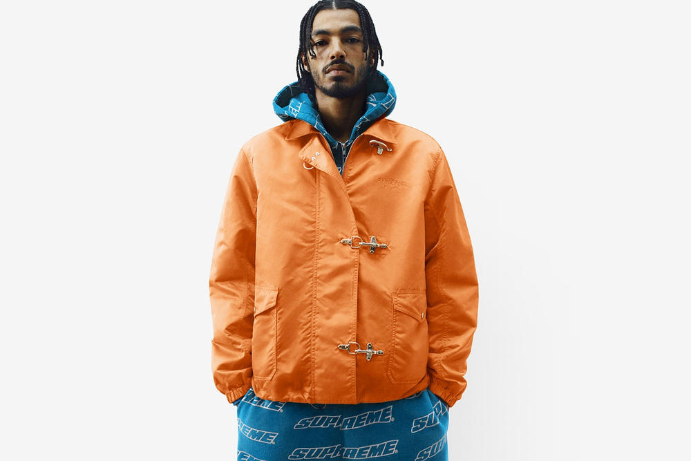 Supreme Spring/Summer 2018 Collection Lookbook Jacket Orange