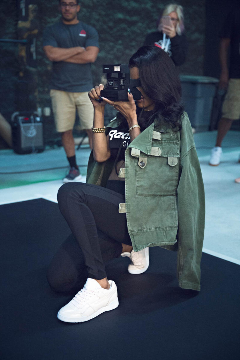 Teyana Taylor Reebok Workout Plus Spring Summer 2017 Always Classic Campaign Lookbook