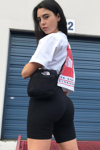Frankie Collective The North Face Vintage Rework Crop Tshirt Bag
