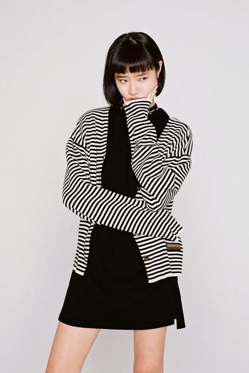 thisisneverthat Spring/Summer 2018 Lookbook Cardigan Black White