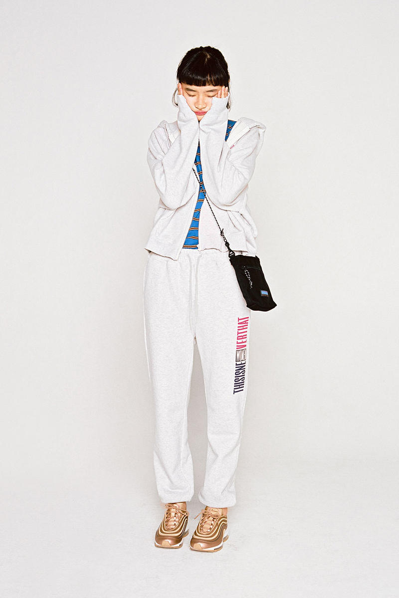 thisisneverthat Spring/Summer 2018 Lookbook Sweatsuit Grey