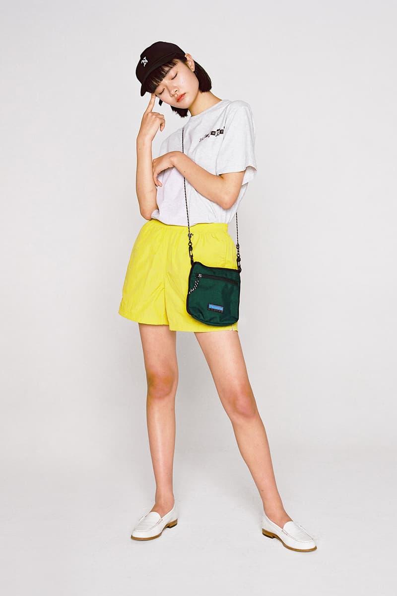 thisisneverthat Spring/Summer 2018 Lookbook T-Shirt White Shorts Yellow