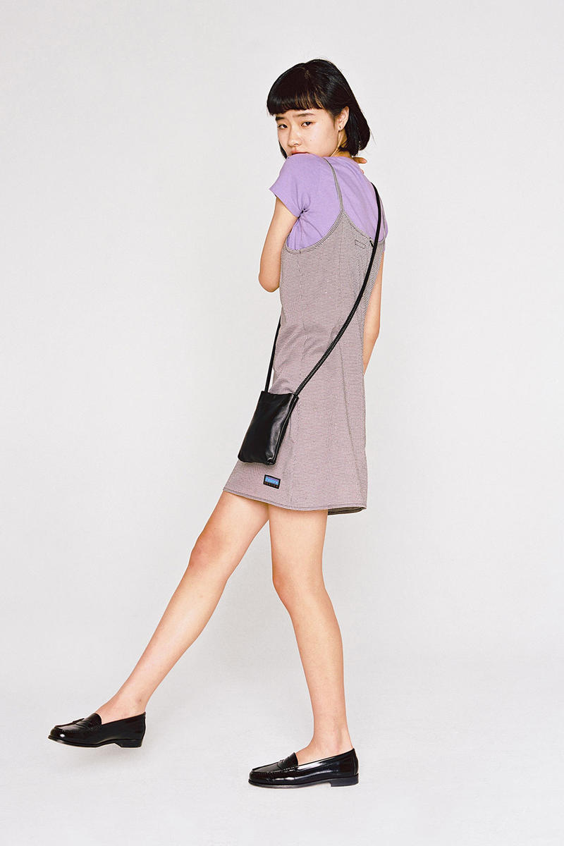 thisisneverthat Spring/Summer 2018 Lookbook Dress Grey T-Shirt Purple