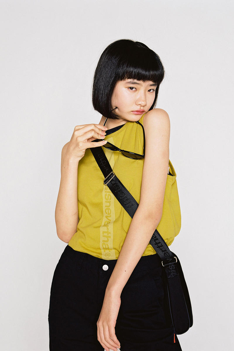 thisisneverthat Spring/Summer 2018 Lookbook Short Sleeve T-Shirt Yellow