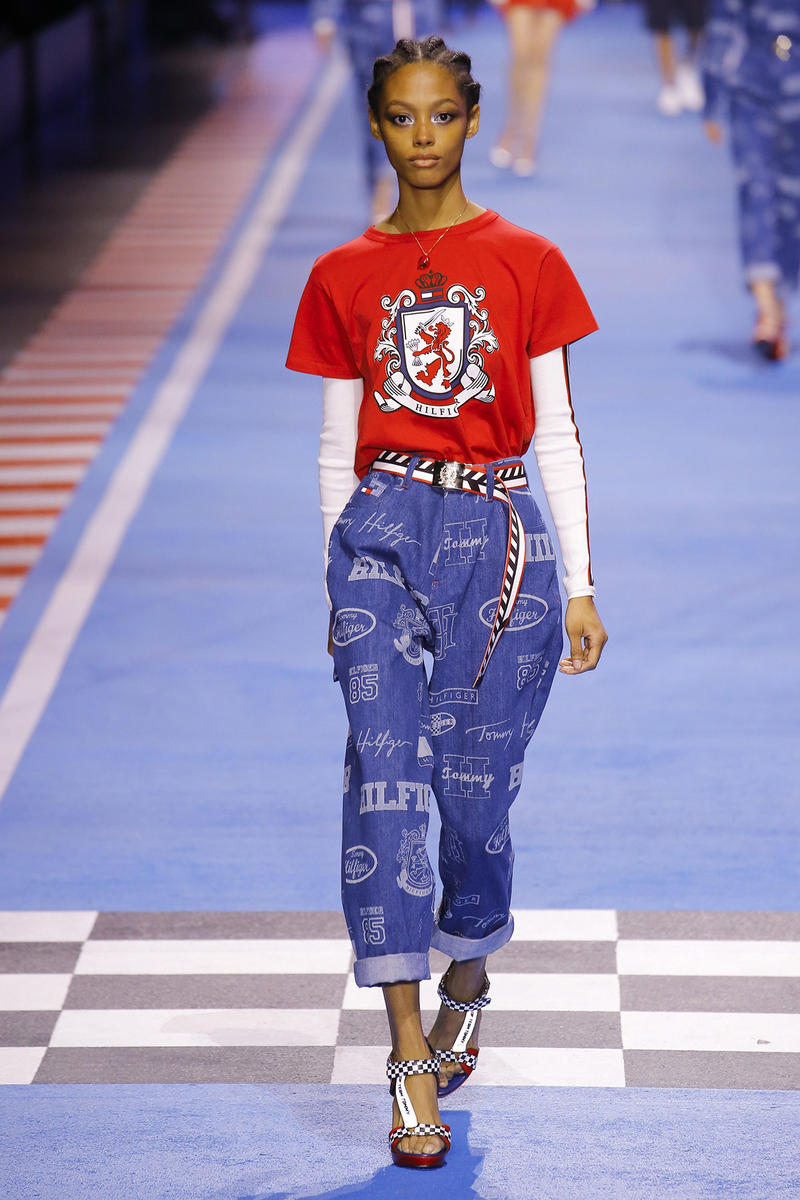Tommy Hilfiger Spring 2018 Milan Fashion Week Show Collection