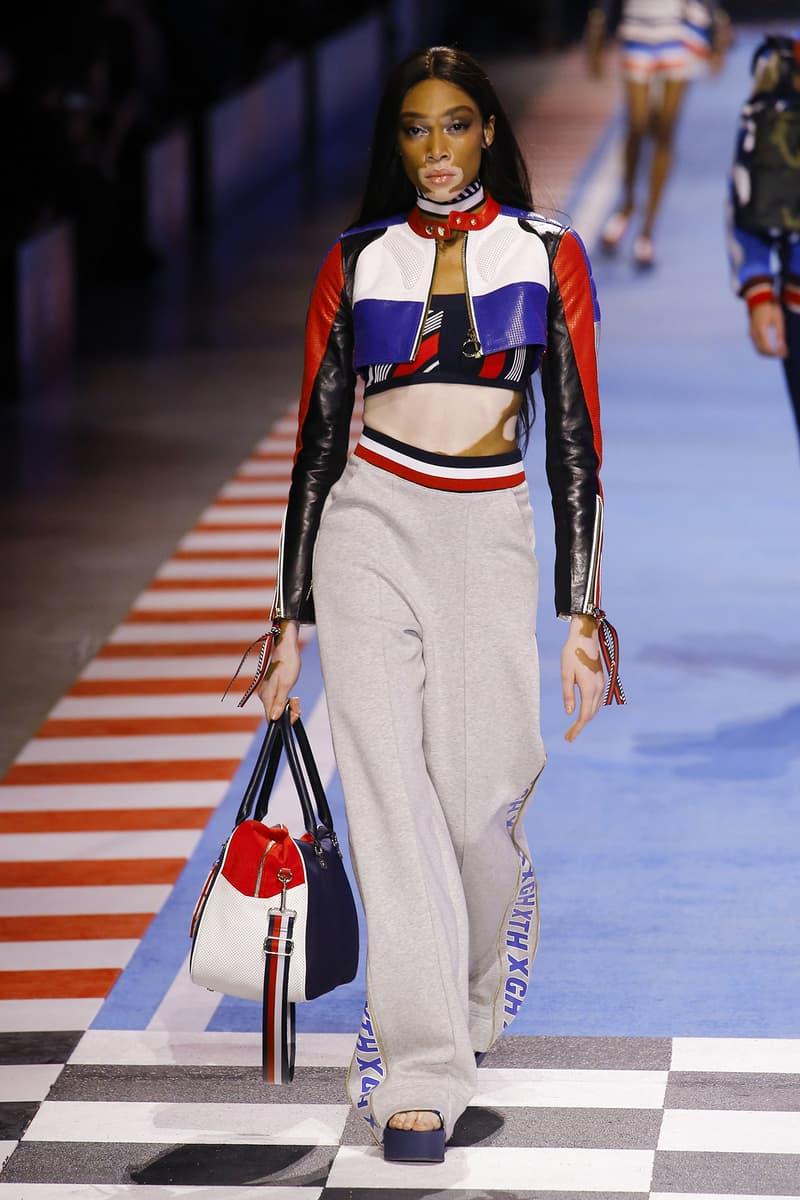 Winnie Harlow Tommy Hilfiger Spring 2018 Milan Fashion Week Show Collection