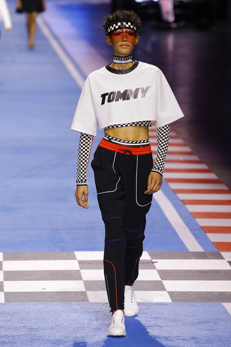 Dilone Tommy Hilfiger Spring 2018 Milan Fashion Week Show Collection