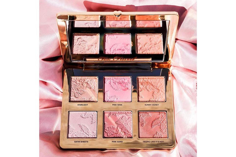 Too Faced Natural Love Face Palette Highlighter Bronzer Blush