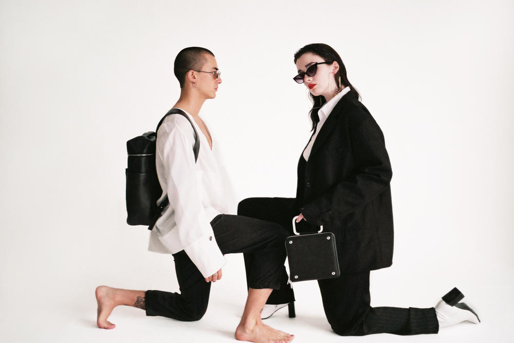 TOTEM COLLECTIVE Fall/Winter 2018 Lookbook Hong Kong Copenhagen Leather Accessories Minimalist Tote Bag