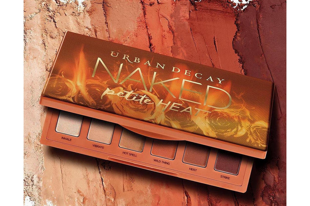 Urban Decay Petite Heat Eyeshadow Palette Makeup Beauty Cosmetics