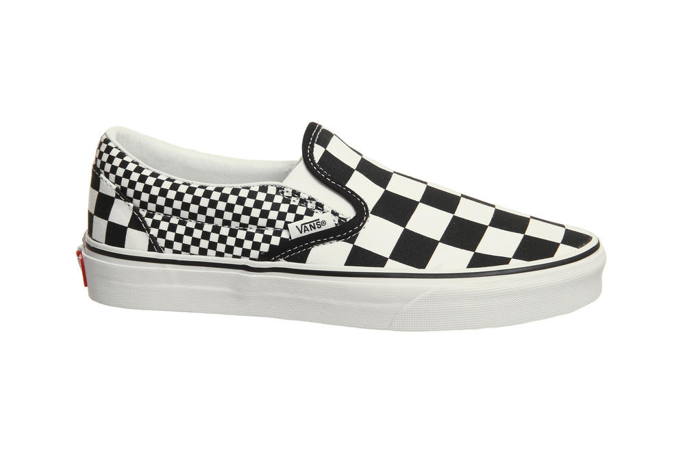 Vans Slip-On Checkerboard Mix Black White