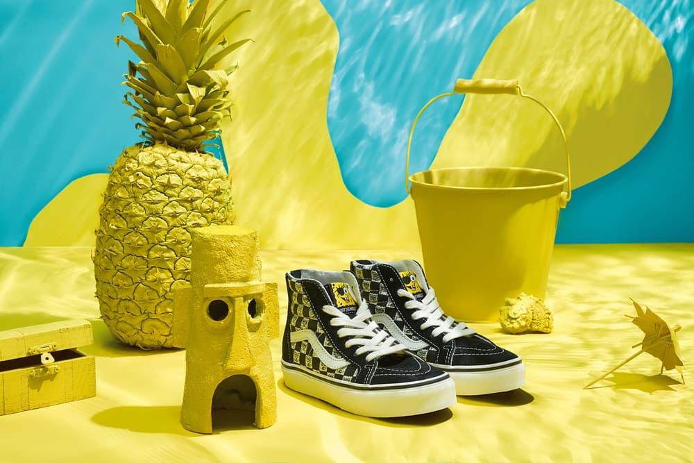 86dbaa3d4bdf Vans sk8-hi authentic slip-on sneakers spongebob squarepants nickelodeon  patrick apparel skate decks