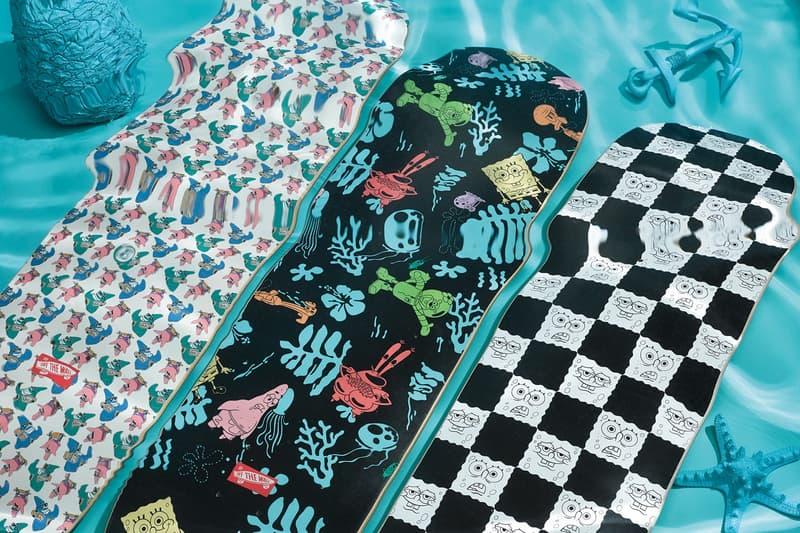 Vans sk8-hi authentic slip-on sneakers spongebob squarepants nickelodeon patrick apparel skate decks where to buy