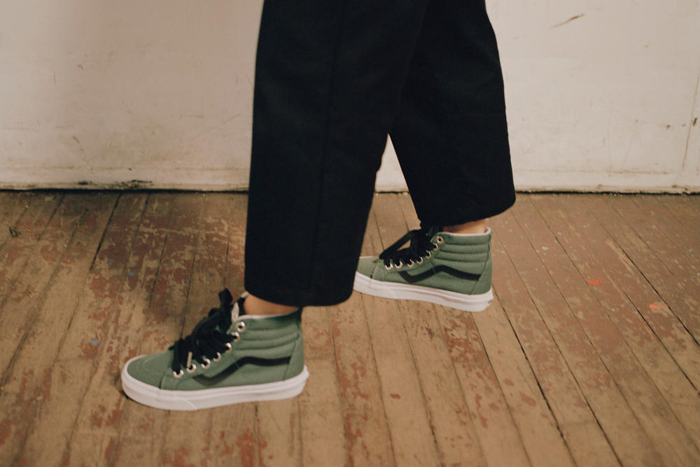 Vans womens design assembly collection exclusive first look off the wall hoodies skateboarding t-shirts old skool sh8-hi authentic sneakers