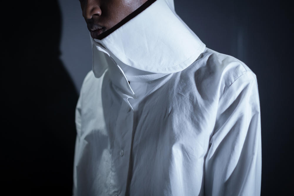 Vaquera Fall 2018 Collection Collared Shirt White