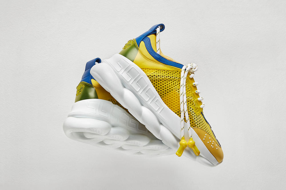 Versace Chain Reaction Fall Winter 2018 Women's Sneaker