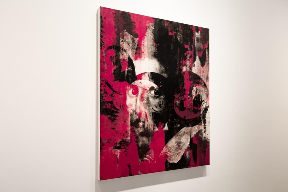 Virgil Abloh Takashi Murakami Future History Exhibit Gagosian Gallery London
