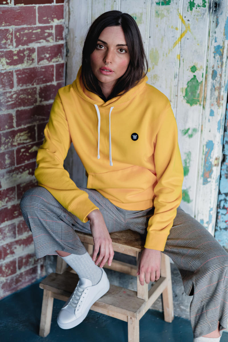 Wood Wood Spring 2018 Collection Lookbook Yellow Hoodie