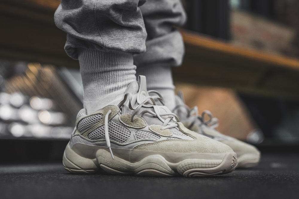YEEZY Desert Rat 500 Release Date Location Los Angeles NBA All Stars Weekend Kanye West adidas Originals Collaboration Drop