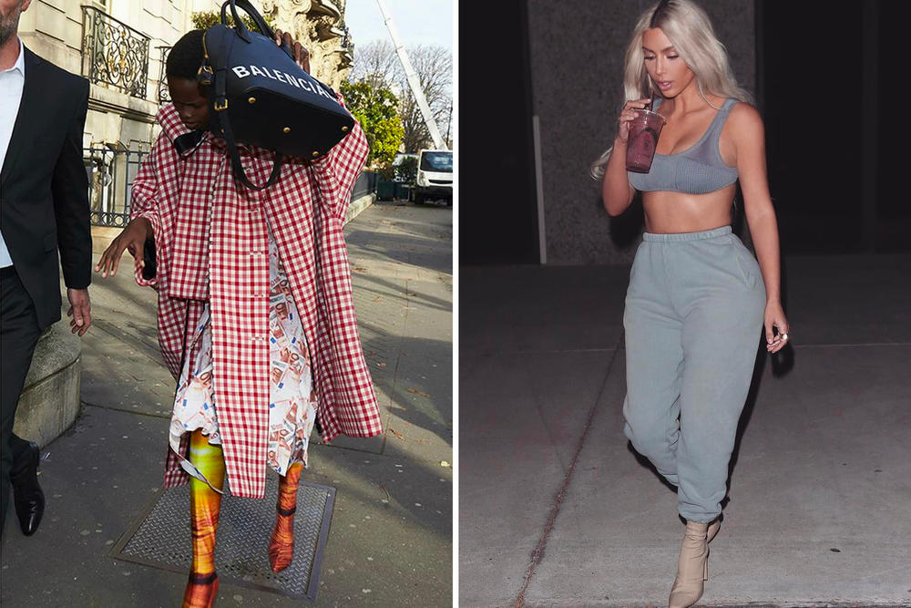 Yeezy Season 6 Kim Kardashian Paparazzi Campaign Balenciaga Spring Summer 2018 Kanye West