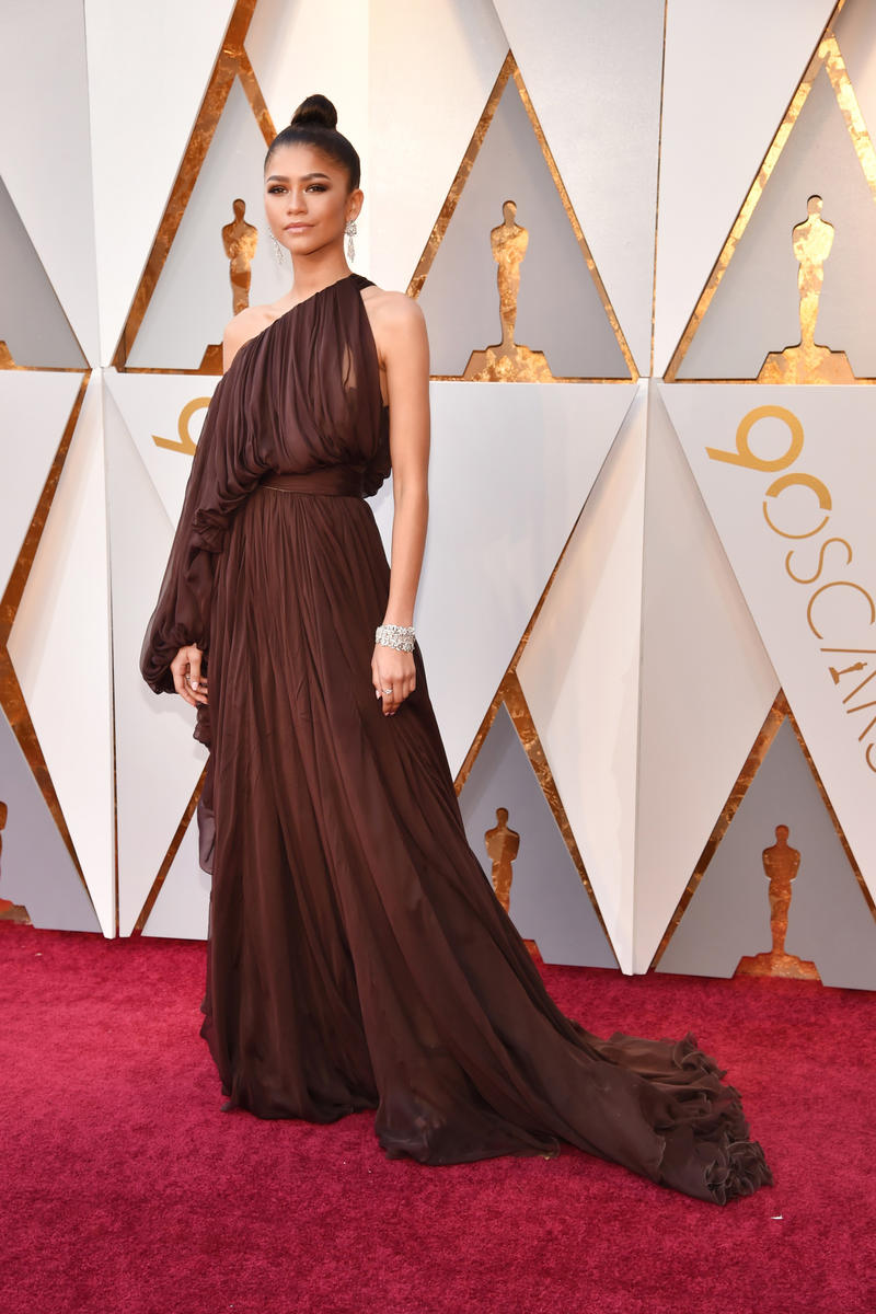 2018 Academy Awards Oscars Red Carpet Zendaya