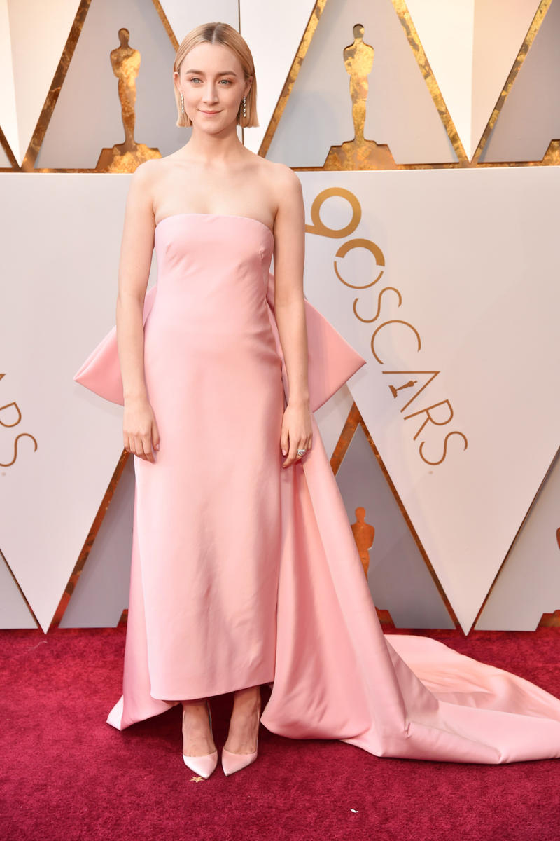 2018 Academy Awards Oscars Red Carpet Saorsie Ronan