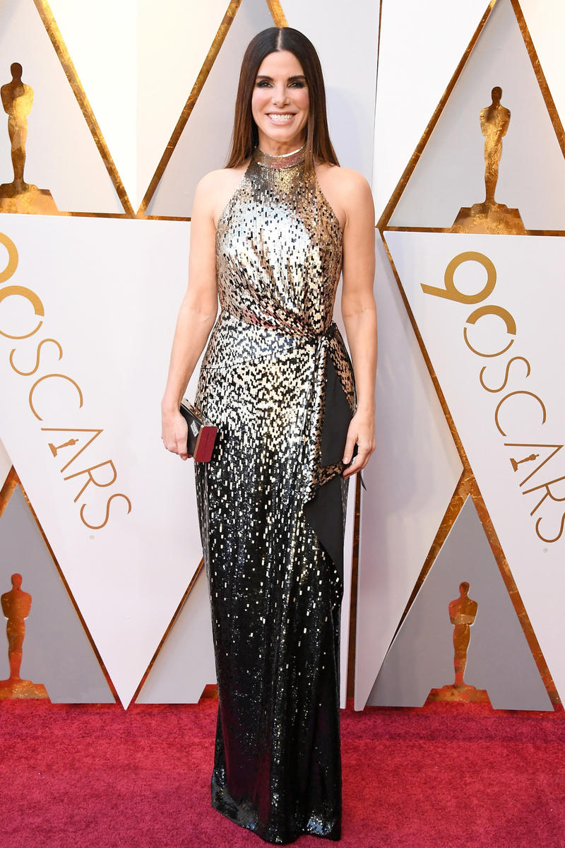 2018 Academy Awards Oscars Red Carpet Eva Longoria
