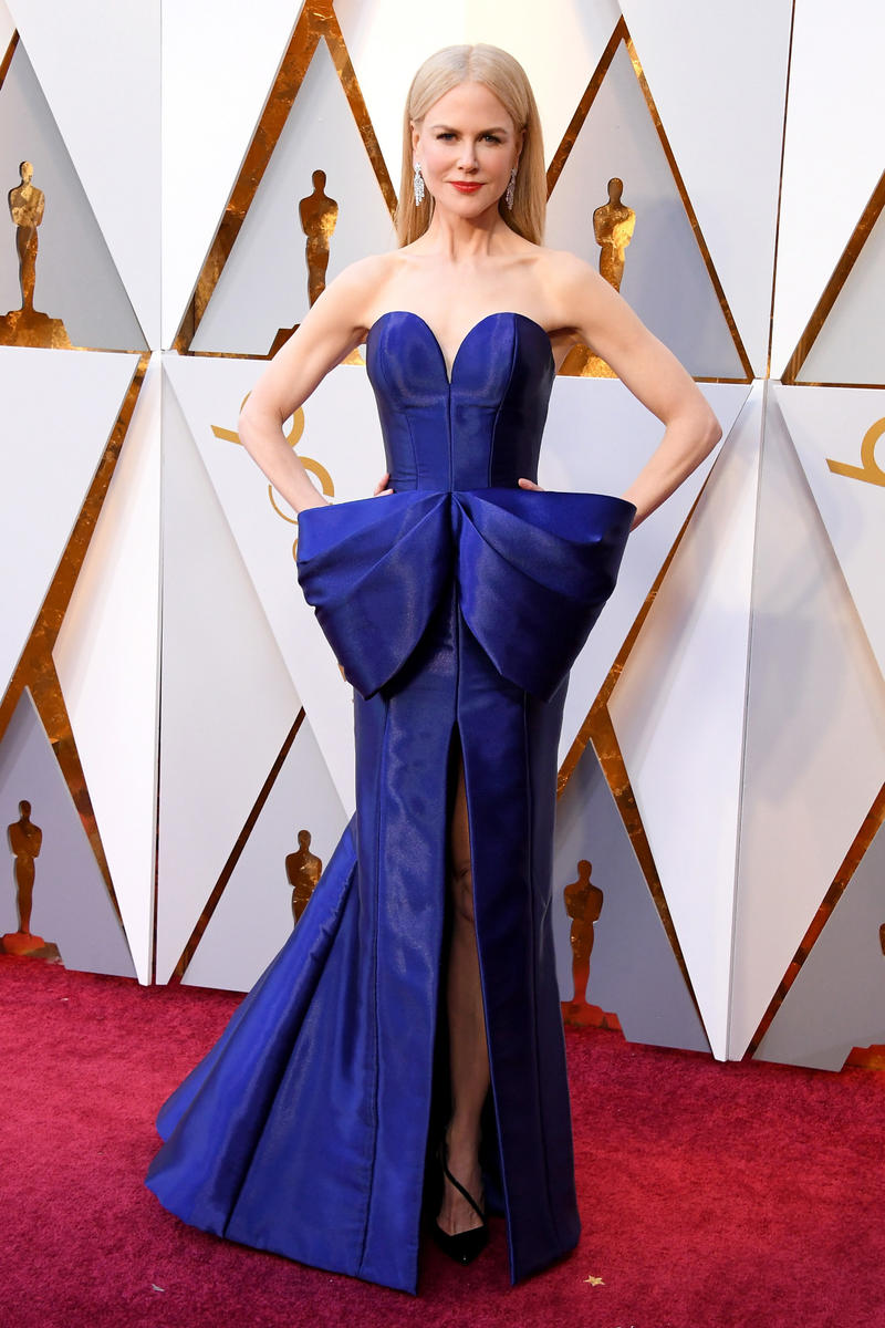 2018 Academy Awards Oscars Red Carpet Nicole Kidman