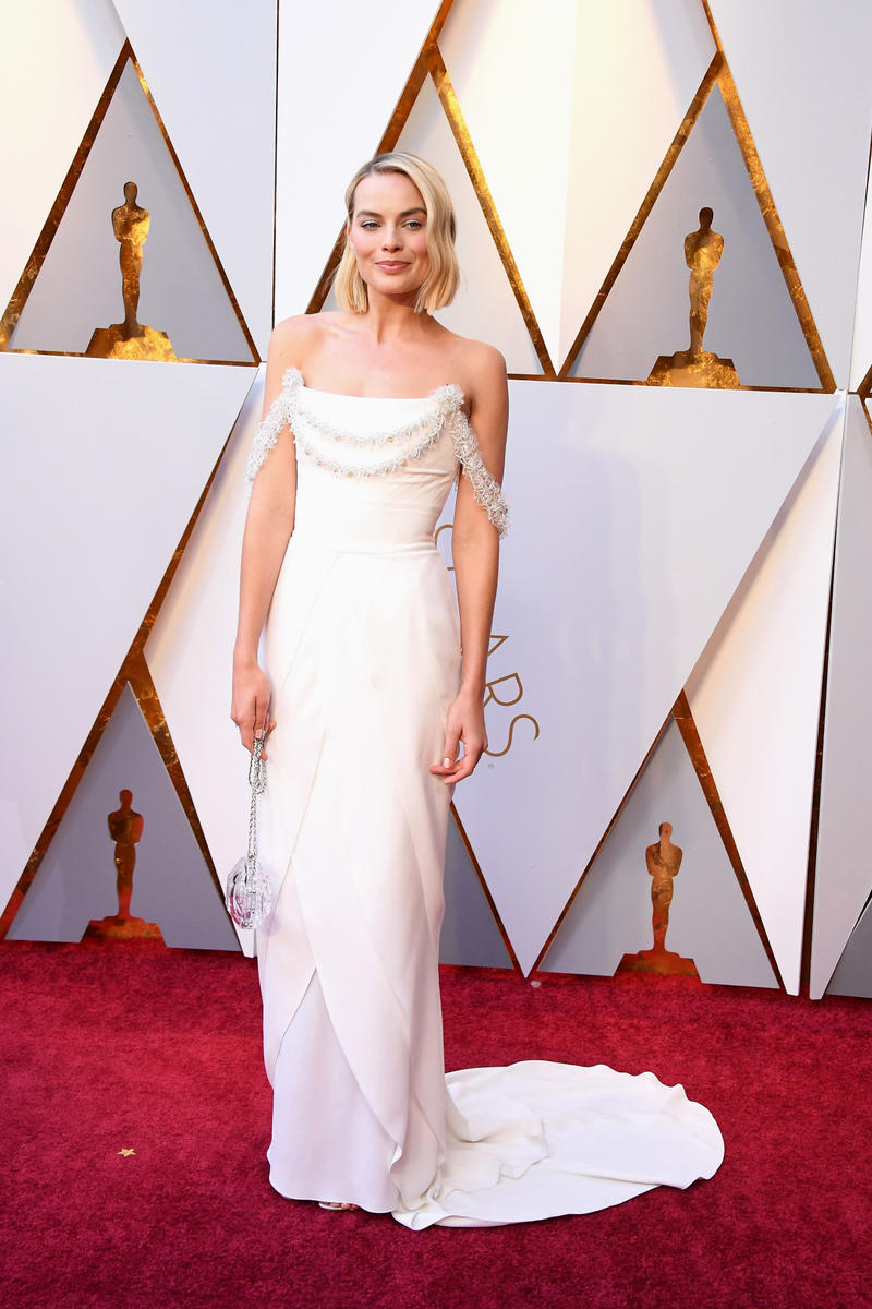2018 Academy Awards Oscars Red Carpet Looks Margot Robbie Emma Stone Lupita Nyong'o Zendaya Jennifer Lawrence Danai Gurira