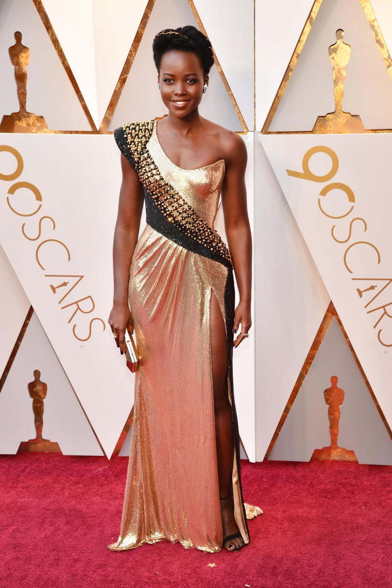 2018 Academy Awards Oscars Red Carpet Lupita Nyong'o