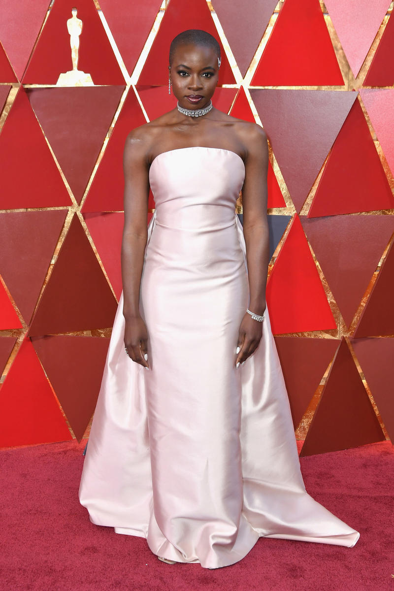 2018 Academy Awards Oscars Red Carpet Danai Gurira