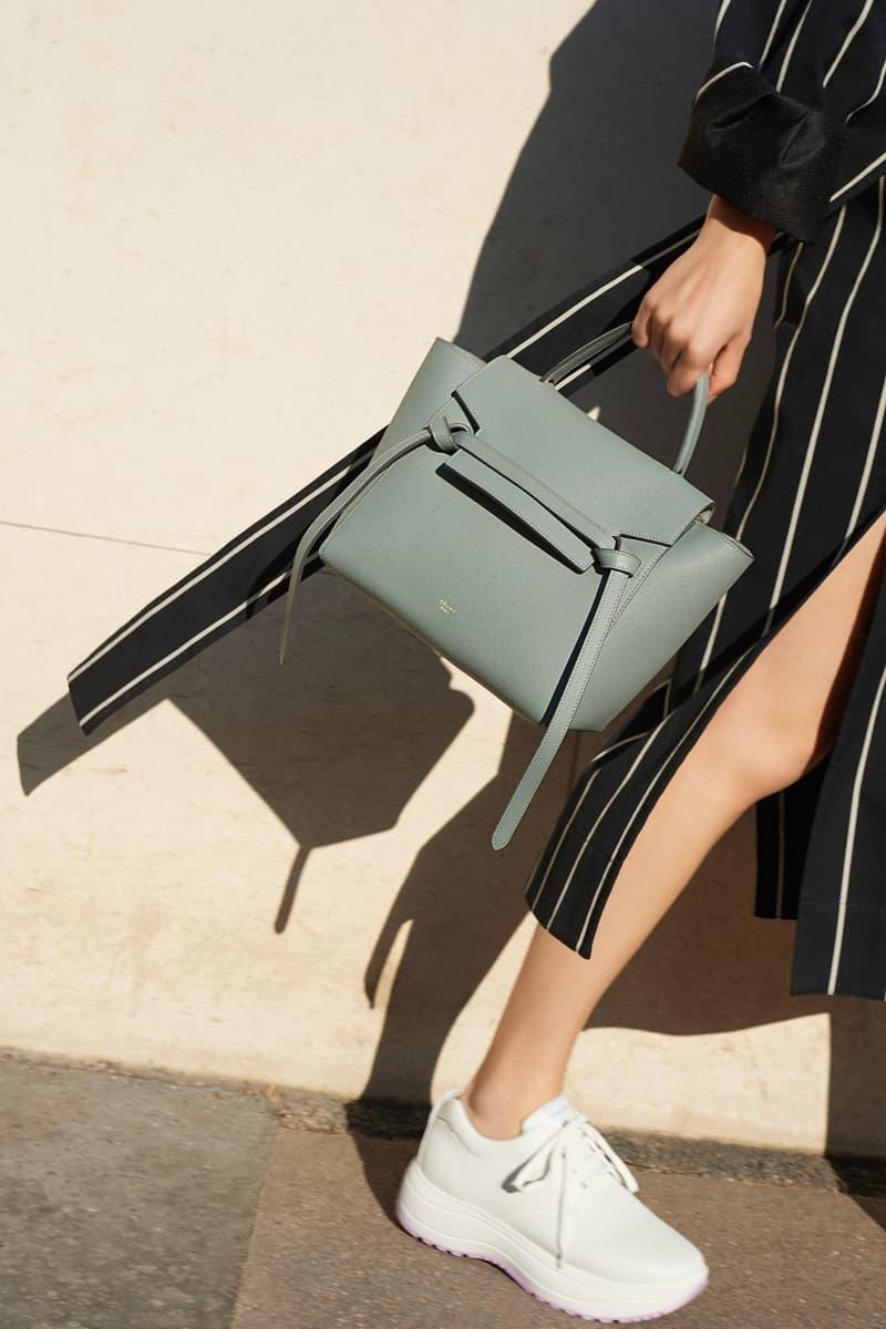 Celine E-Commerce Launch 24 Sevres Belted Dress Micro Belt Bag Delivery Sneaker Black Blue White