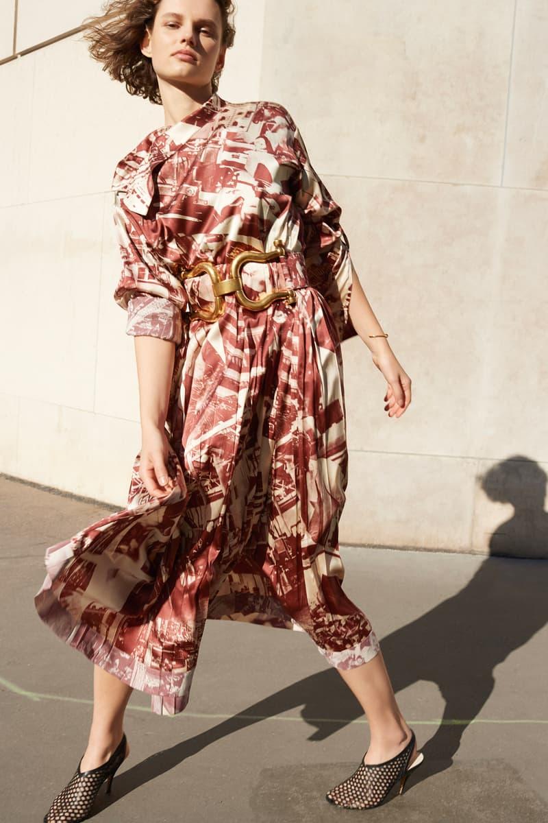 Celine E-Commerce Launch 24 Sevres Dress Belt Shoes Burgundy White Black Gold