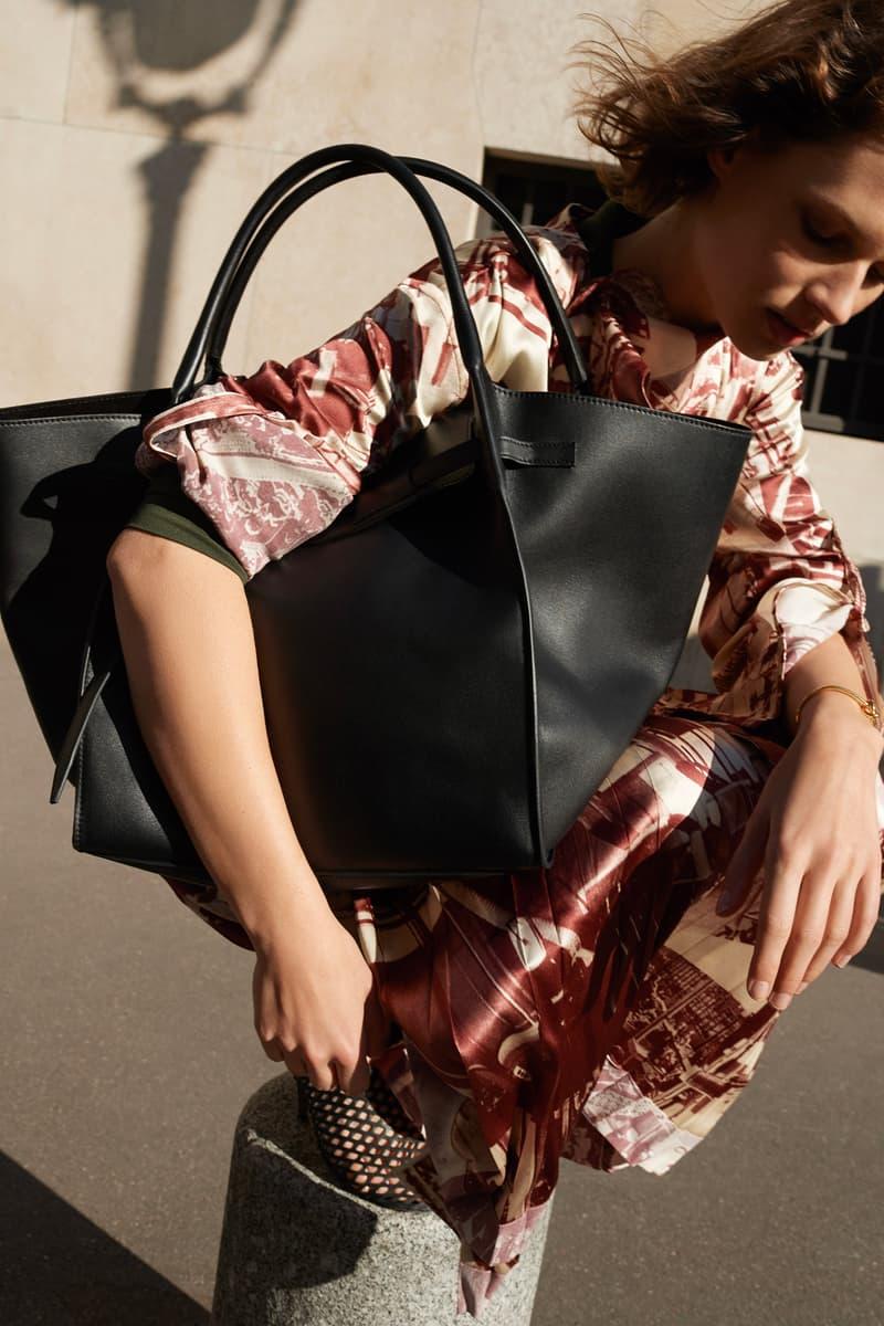Celine E-Commerce Launch 24 Sevres Dress Big Bag Burgundy White Black