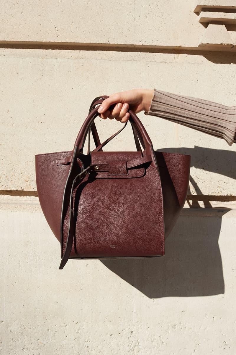 Celine E-Commerce Launch 24 Sevres Small Big Bag Bordeaux