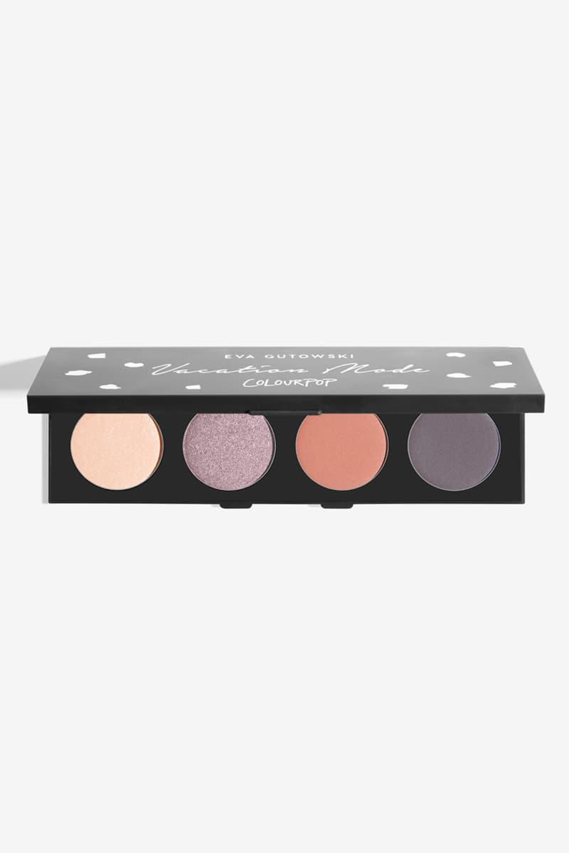 ColourPop x MyLifeAsEva Makeup Collection Collaboration Release Eyeshadow Lipstick Products Eva Gutowski