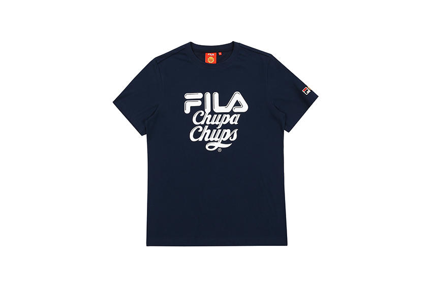 FILA Korea x Chupa Chups Full Collection Apparel Accessories Sweets Sportswear Candy Cute
