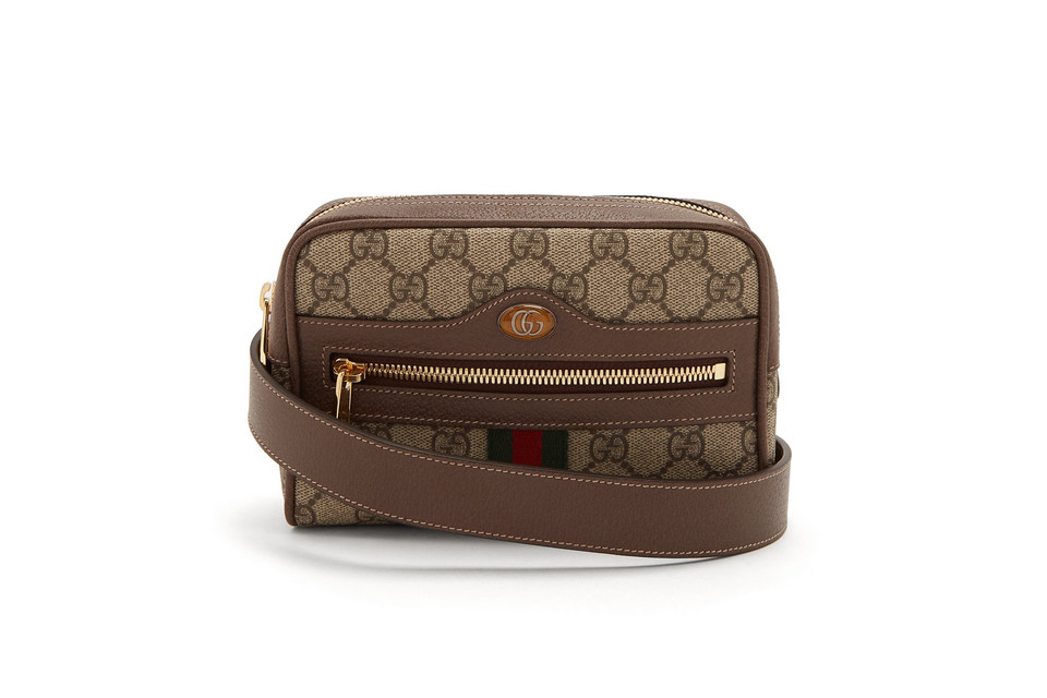 29ae845934af Gucci's Vintage Ophidia Belt-Bag Is the Definition of Retro Chic. NEED. Gucci  Vintage Monogram Ophidia Belt-Bag Retro Pattern Print Fanny Pack Alessandro  ...