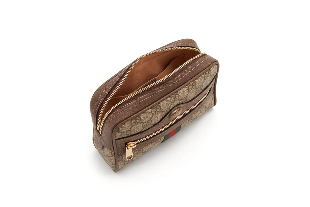 16ceef8354f9 Gucci Vintage Monogram Ophidia Belt-Bag Retro Pattern Print Fanny Pack  Alessandro Michele Purse Designer